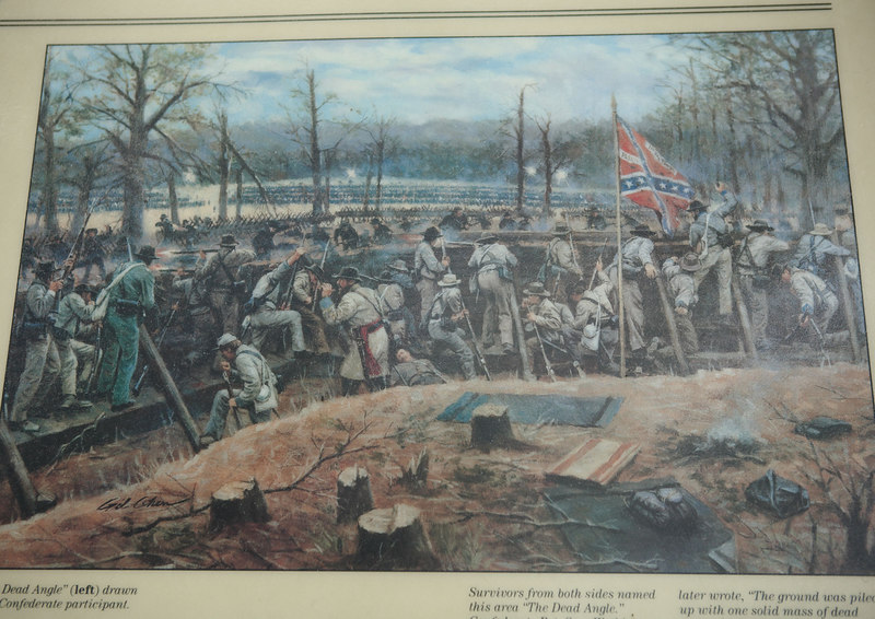 Kennesaw Mountain battlefield, Atlanta Campaign, June 1864.