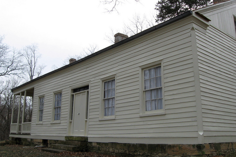 Thome-Benning (Cannonball) House (ca. 1853)