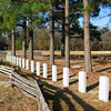 Confederate Cemetery - This small cemetery contains the remains of 360 unknown confederate soldiers who fell during the battle...