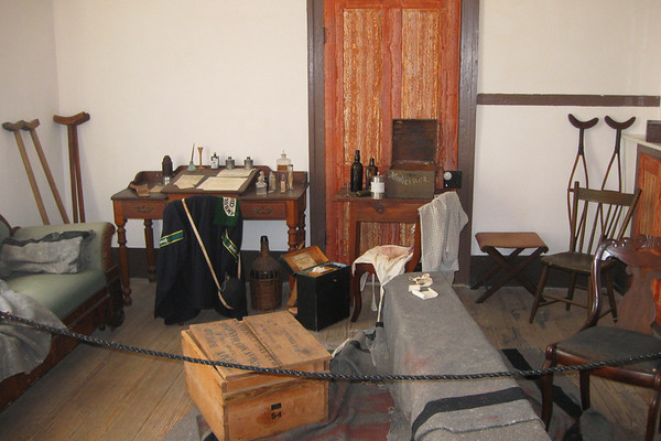 A short guided tour through the house gives a good feel for what life was like here during and after the battle...