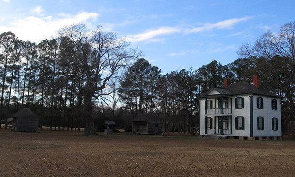 The centerpiece of the battlefield is the Harper House.  Situated close enough to the battlefield to be convenient but far enough to be relatively safe, it served as a field hospital for both armies during and after the battle...