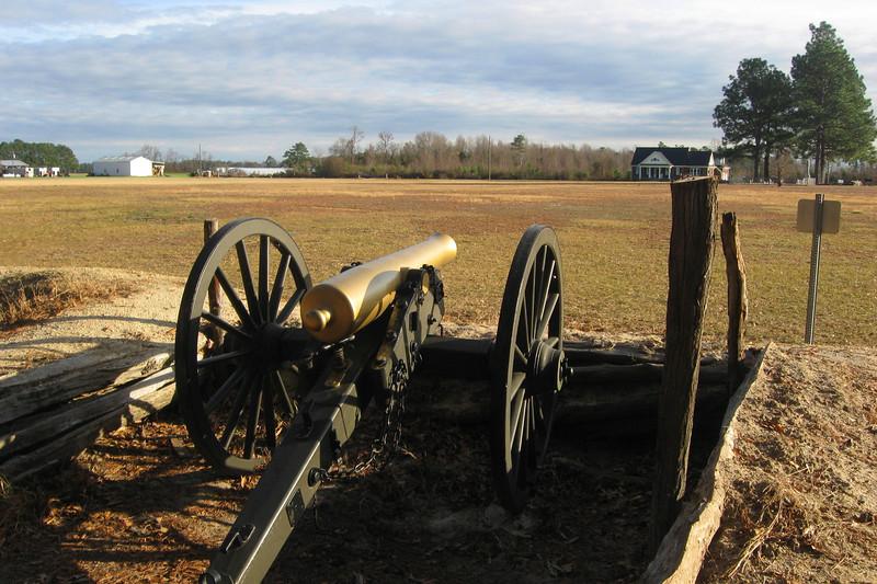 Bentonville Battlefield State Historic Site, NC (12-23-11)