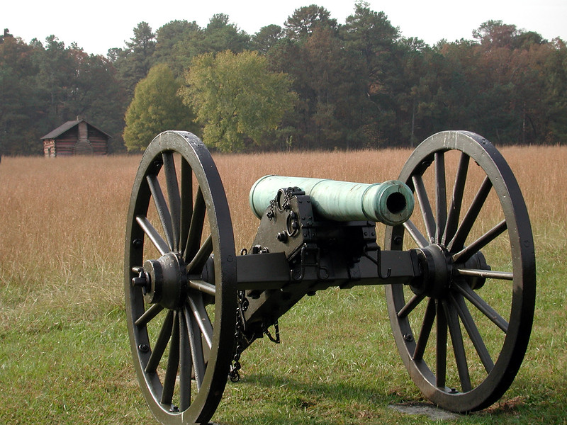 Battery A 1st Ohio on Kelly Field