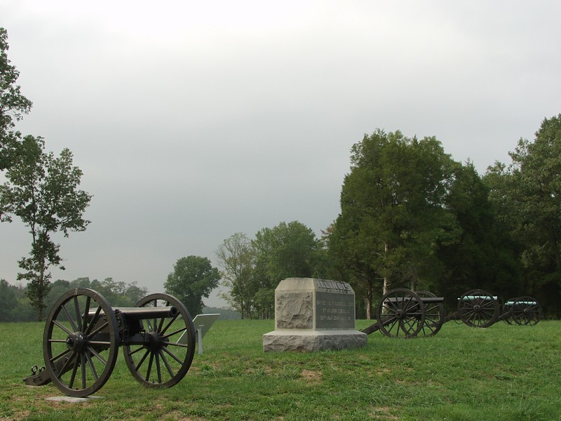 Federal Battery on Viniard's Field - Chickamauga and Chattanooga National Military Park