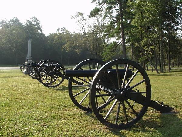 Bridge's Battery, USA - Chickamauga and Chattanooga National Military Park