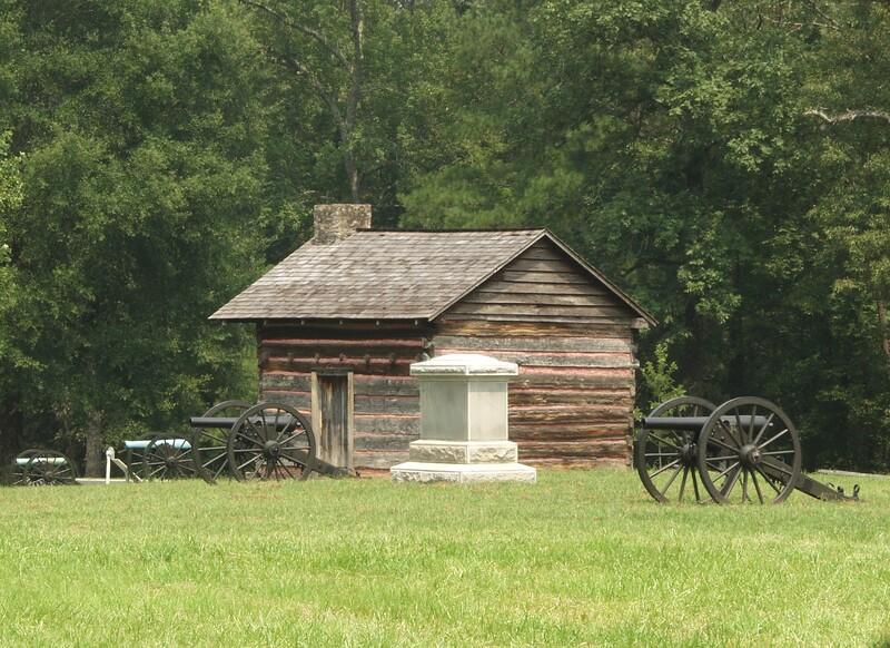 Confederate cannon on Brotherton's farm, Chickamauga and Chattanooga National Military Park, Chickamuaga, GA.