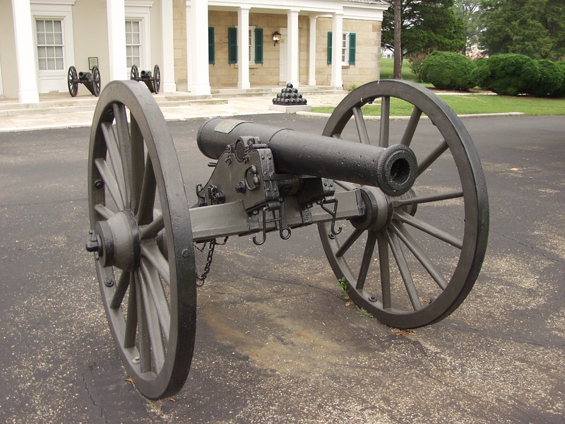 Cannon Tube fired at battle 01