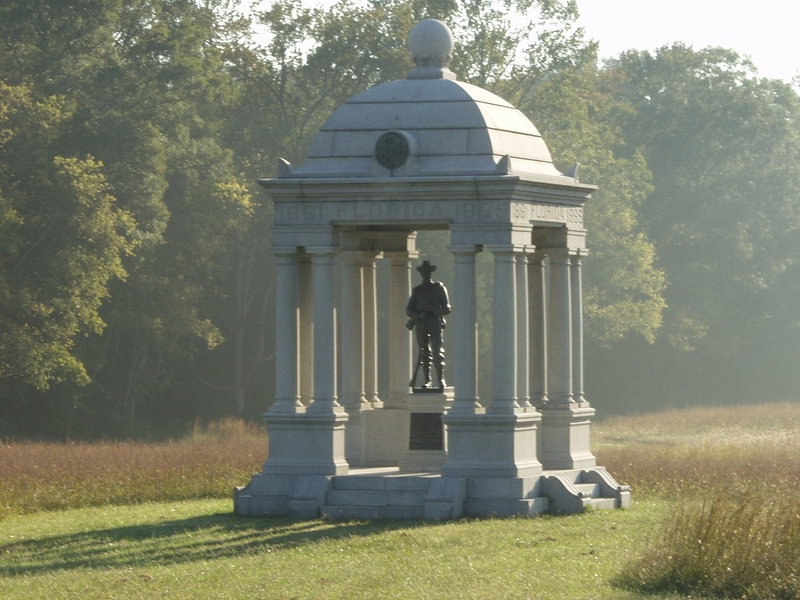 Florida monument - Chickamauga and Chattanooga National Military Park