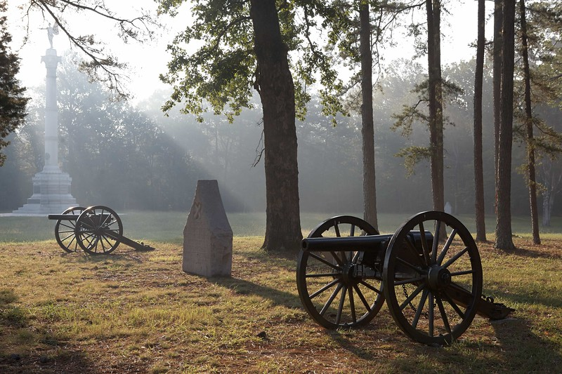 Georgia Troops on Poe's Field at Chickamauga and Chattanooga National Military Park,