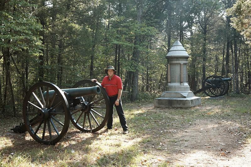 Battery H, 5th US Artillery at Chickamauga and Chattanooga National Military Park.