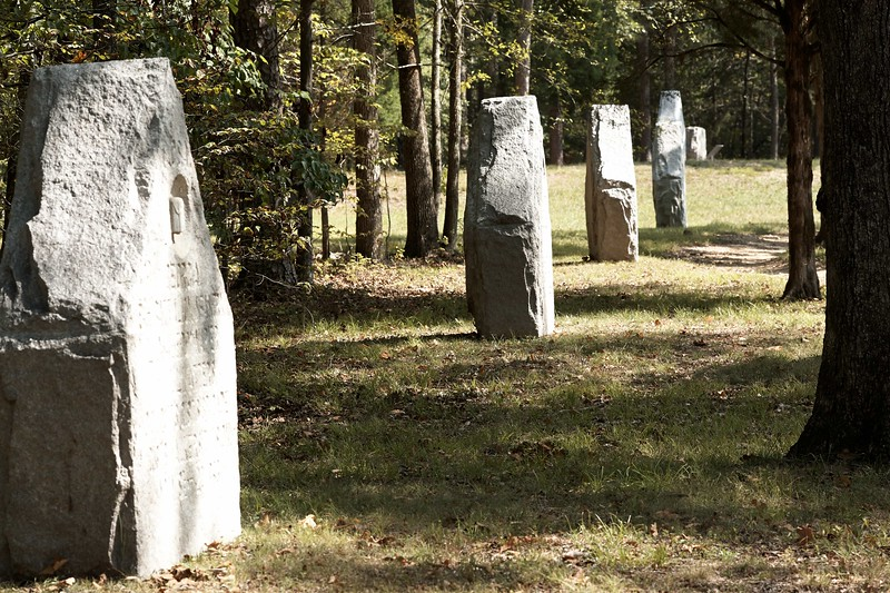 Regimental Monuments to Georgia Troops at Chickamauga and Chattanooga National Military Park.