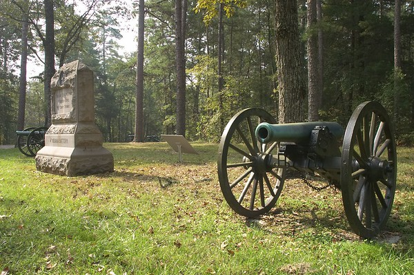 4th Indiana Battery, 2nd Brigade, 1st Division, 14th Corps, Army of the Cumberland - Chickamauga and Chattanooga National Military Park