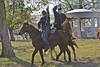 En guarde'! Ft Scott National Historical Site Civil War Encampment, Ft Scott, Kansas.