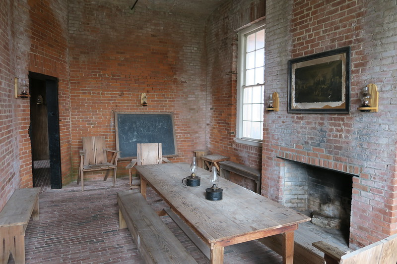 Enlisted Men's Barracks (Interior)