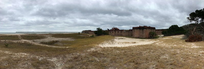 Fort Clinch from Southwest