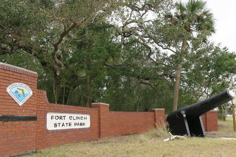 Fort Clinch State Park Entrance