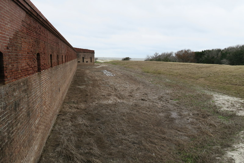 North Portion of East Curtain Wall