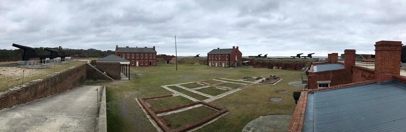 Fort Clinch Interior Panorama