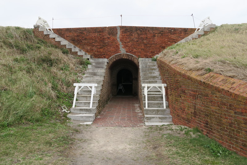 Southwest Bastion Entrance