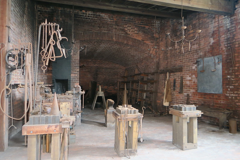 Blacksmith Shop (Interior)
