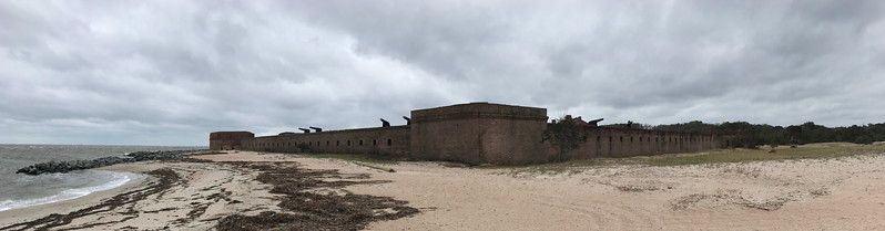 Fort Clinch from Northwest