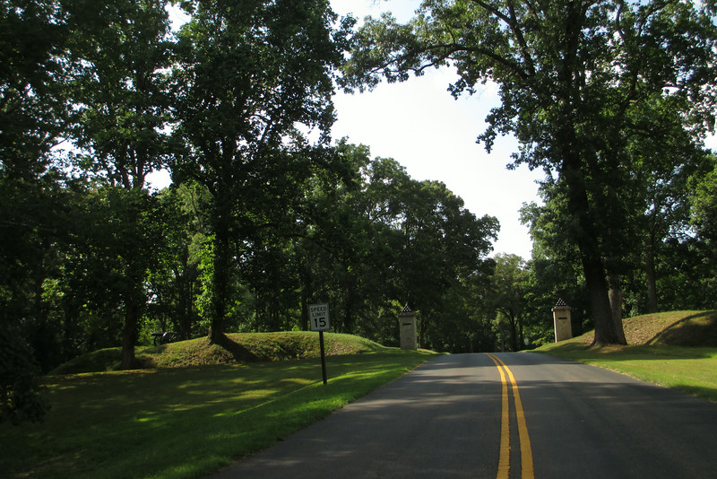 If General Grant could see it now...a paved road now leads into Fort Donelson...