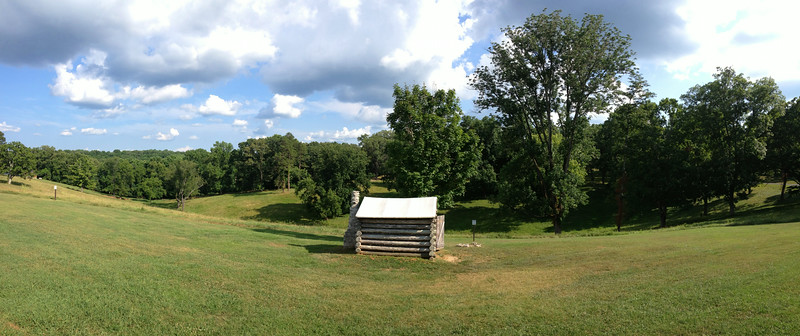 Fort Donelson Interior