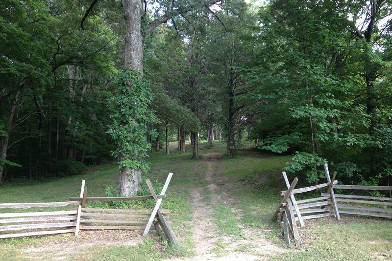 Center of Confederate Outer Defenses - Feb. 13, 1862 - Maney's Battery