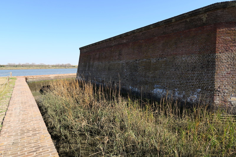 Wet Ditch & Walls