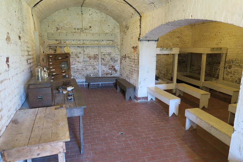 Casemate Gallery - Guard Room