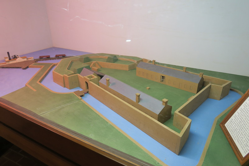 Fort James Jackson - ca. 1860