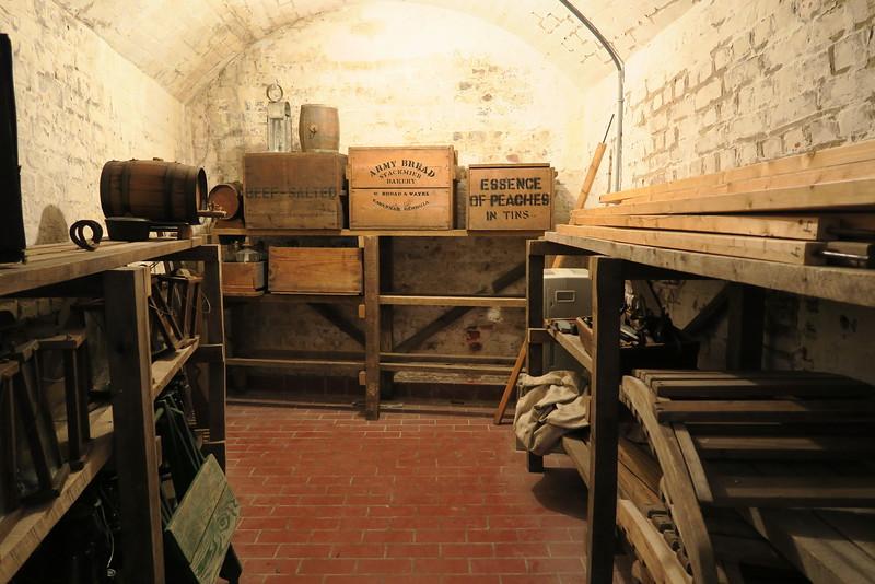 Casemate Gallery - Storage Room
