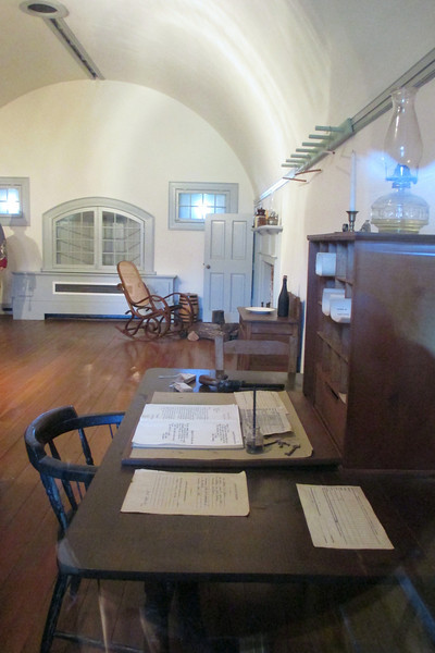 Commandant's Quarters at Fort Macon
