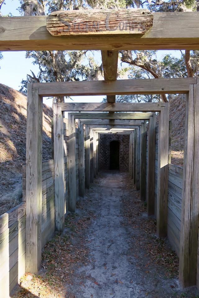 Hot Shot Furnace Entryway