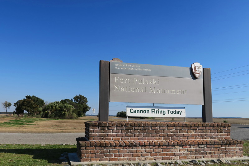 Fort Pulaski National Monument Entrance