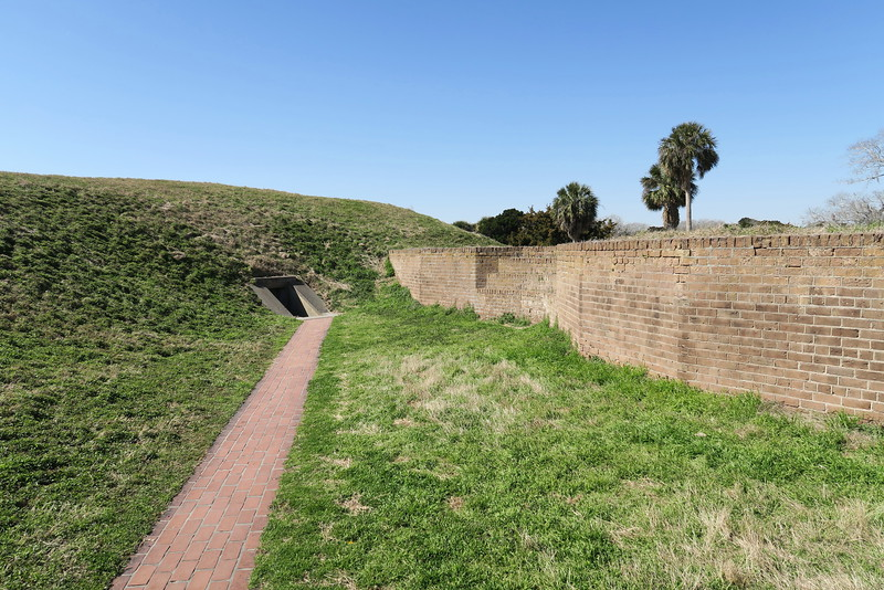 The Demilune - Gun Emplacement
