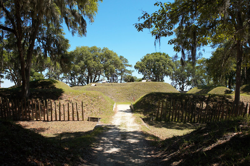 Fort McAllister, a Confederate fort, at Richmond Hill, south of Savannah, Georgia. Fort McAllister guarded the southern approach to Savannah.