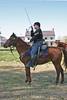 Union Cavalry Corporal sabre salute