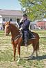 Union Cavalry Colonel sabre salue