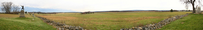 Day 3 - 3:00pm - Cemetery Ridge - Pickett's Charge