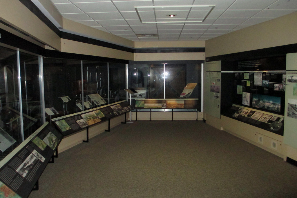 As with most Civil War sites, the visitor center museum houses a fairly large and comprehensive collection of battlefield artifacts...
