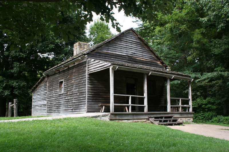"Second Berry-Lincoln Store: This structure is generally regarded as the communities oldest, dating back to 1829.  The store passed through no less than three owners before being sold to Berry and Lincoln in 1833. For whatever reason the store continued to be unsuccessful and eventually, as Lincoln put it, ""winked out."""