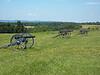 Union artillery line opposite of Henry Hill