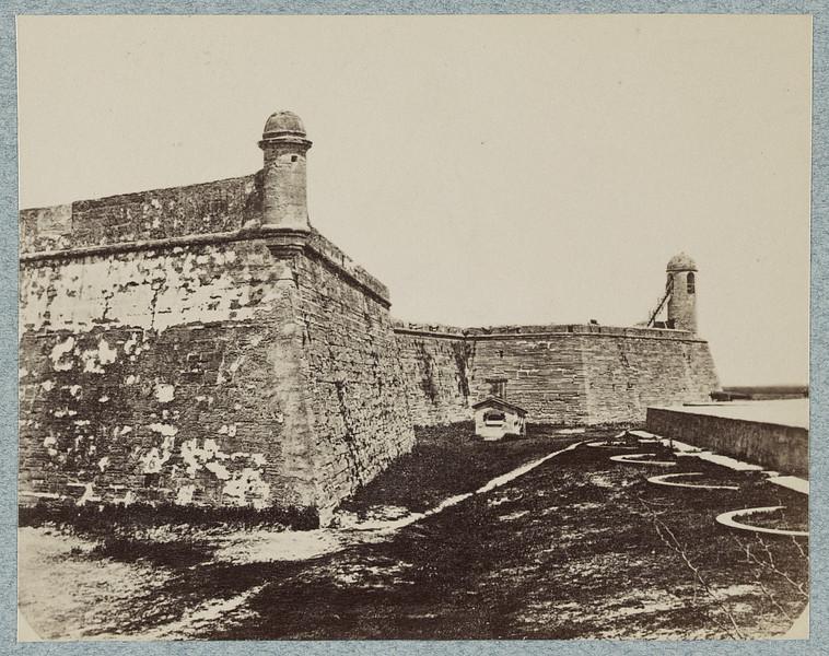 Fort Marion (Castillo de San Marcos), St. Augustine, FL (ca. 1861-65)