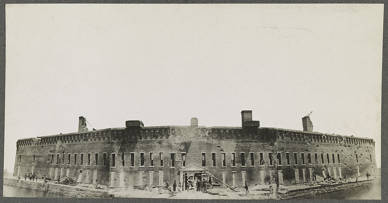 Fort Sumter (ca. April 1861)