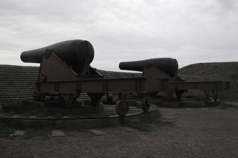 Fort Moultrie - Interior Battery