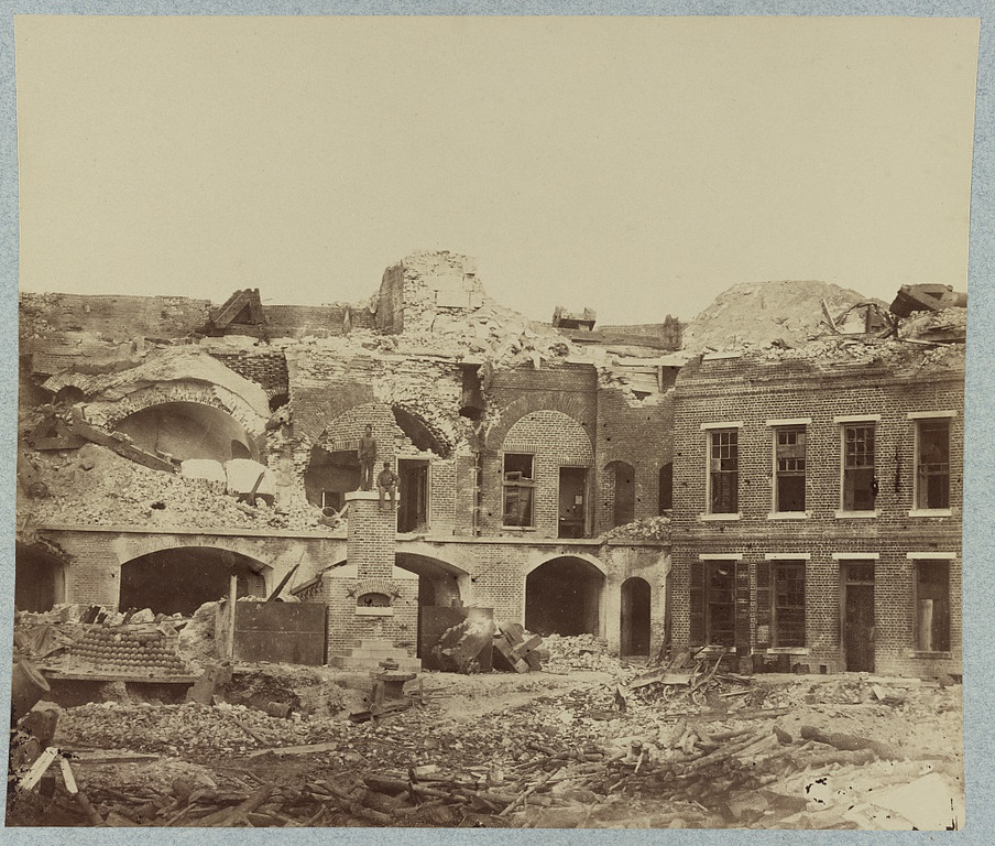 Fort Sumter (ca. 1865)