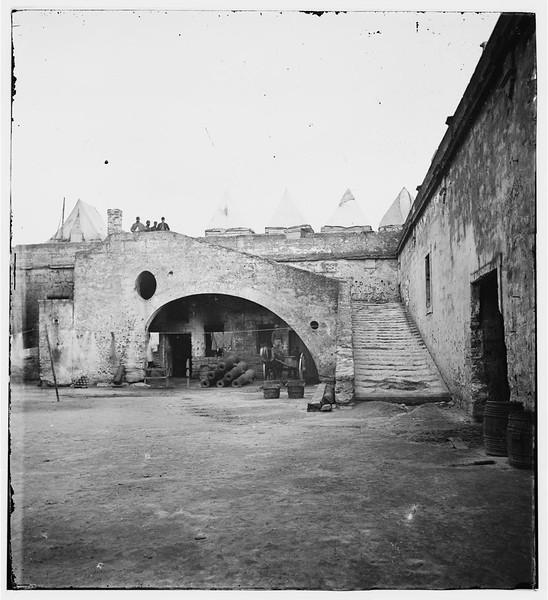 Fort Marion (Castillo de San Marcos), St. Augustine, FL (ca. 1861-1865)