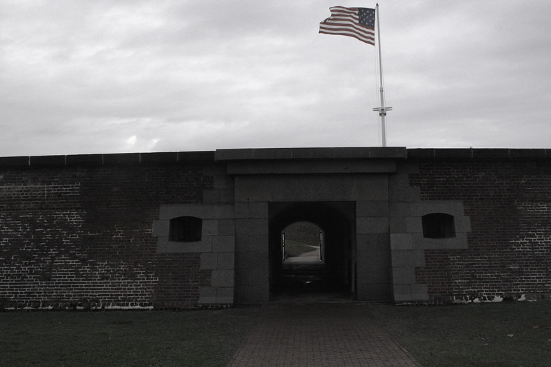 Fort Moultrie - Sally Port