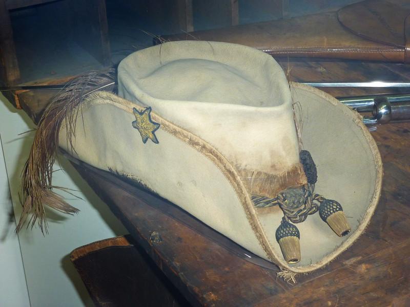 General JEB Stuart's famed plumed feather hat